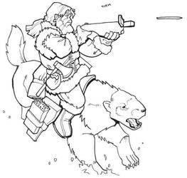Dwarf ranger by Pachycrocuta