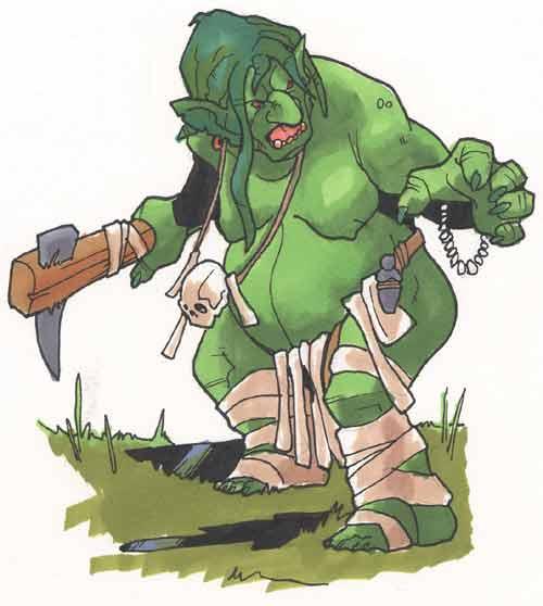 Bog troll by Pachycrocuta