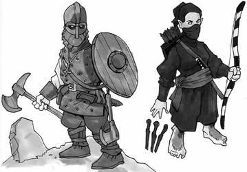 Dungeoneering personalities by Pachycrocuta