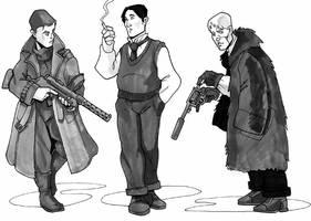 1920s characters II by Pachycrocuta