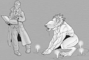 summon-bind servitor by Pachycrocuta