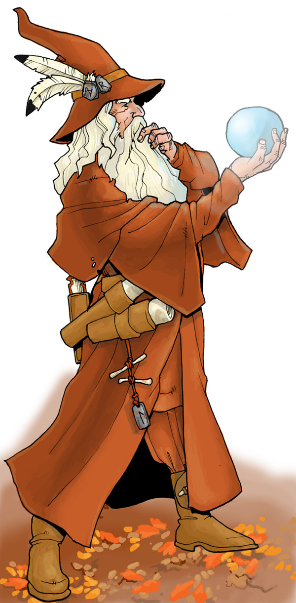 wizard in color