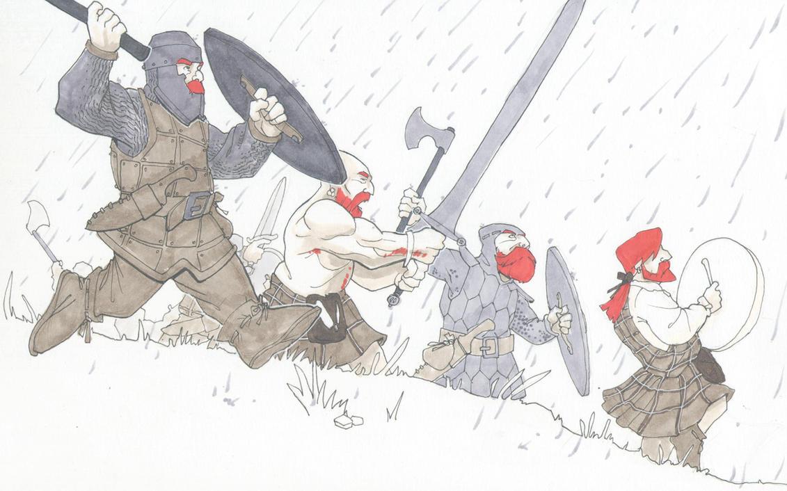crazed ginger assault by Pachycrocuta