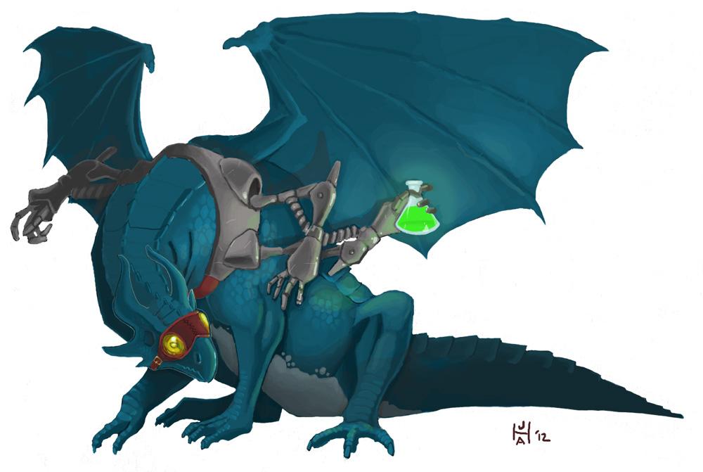 Dragonade by Pachycrocuta
