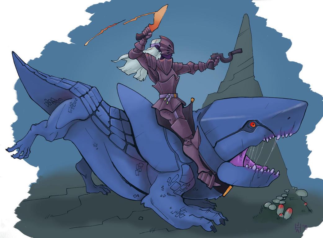 Drow attack! by Pachycrocuta