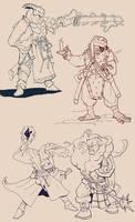 Dragonborn sketches