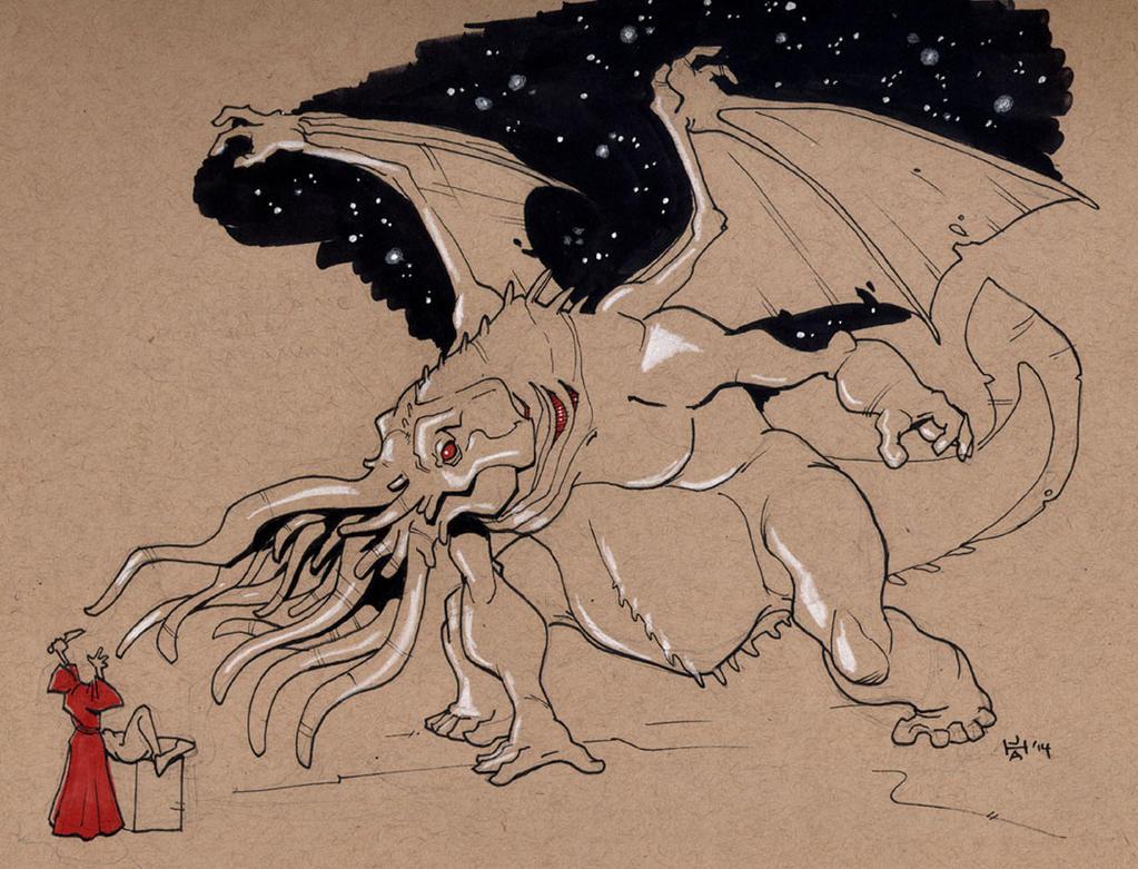 Summon Star-Spawn of Cthulhu by Pachycrocuta