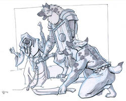 Gnoll personalities by Pachycrocuta