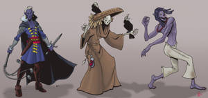 Undead characters