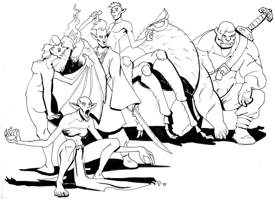 monstrous elites by Pachycrocuta