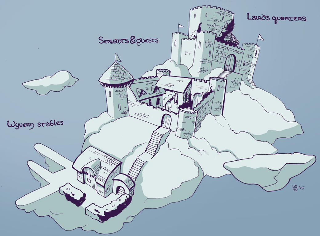 Cloud giant fortress by Pachycrocuta