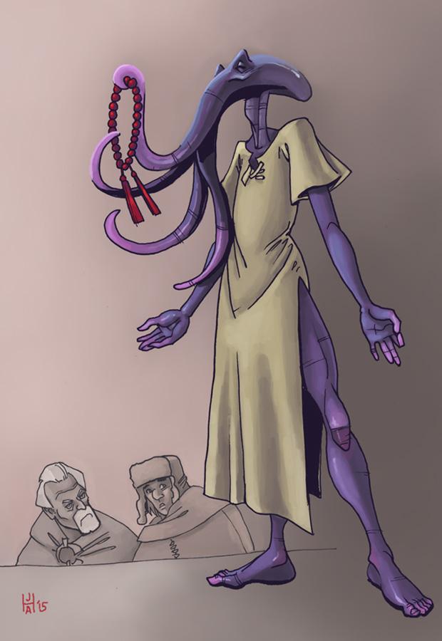 Repentant villain! by Pachycrocuta