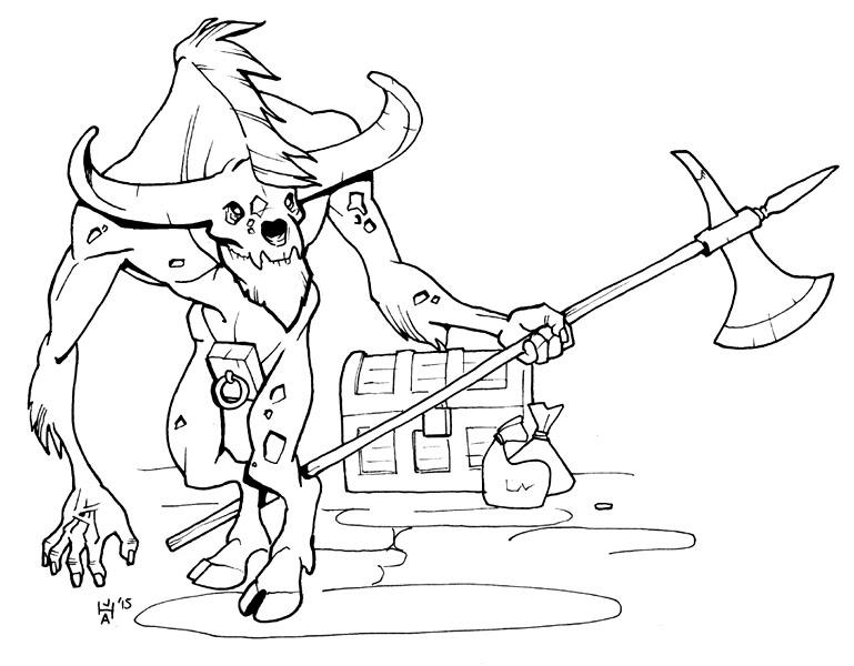 Inktober 5 - zombie by Pachycrocuta