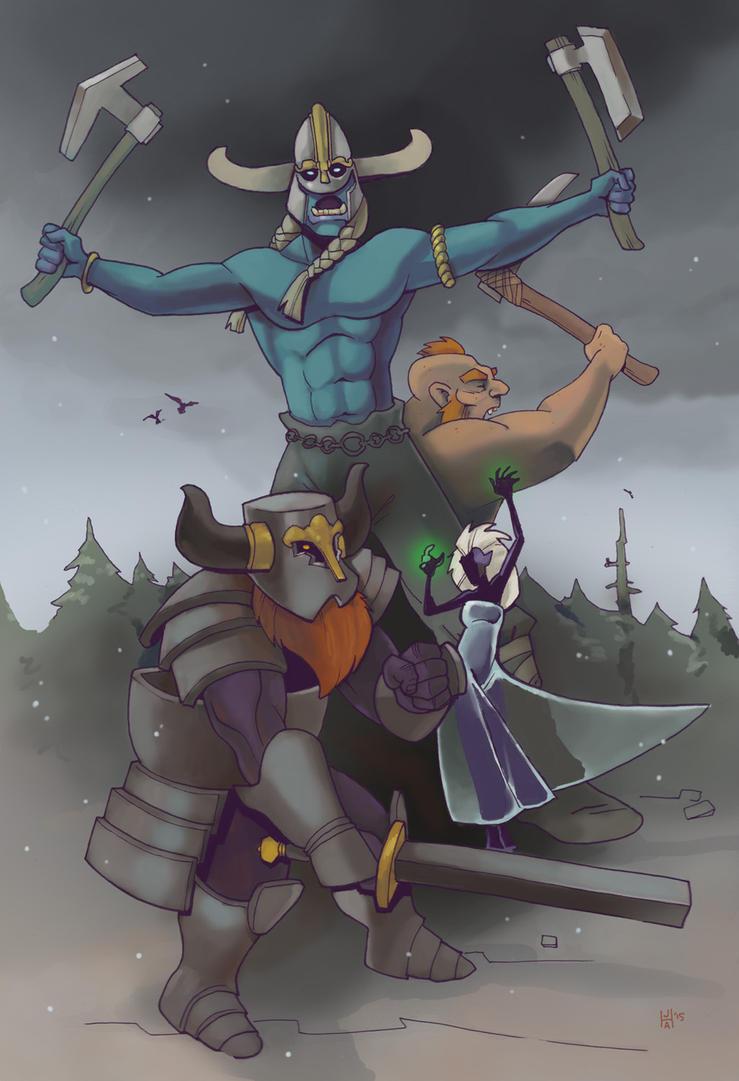 Against the Giants by Pachycrocuta