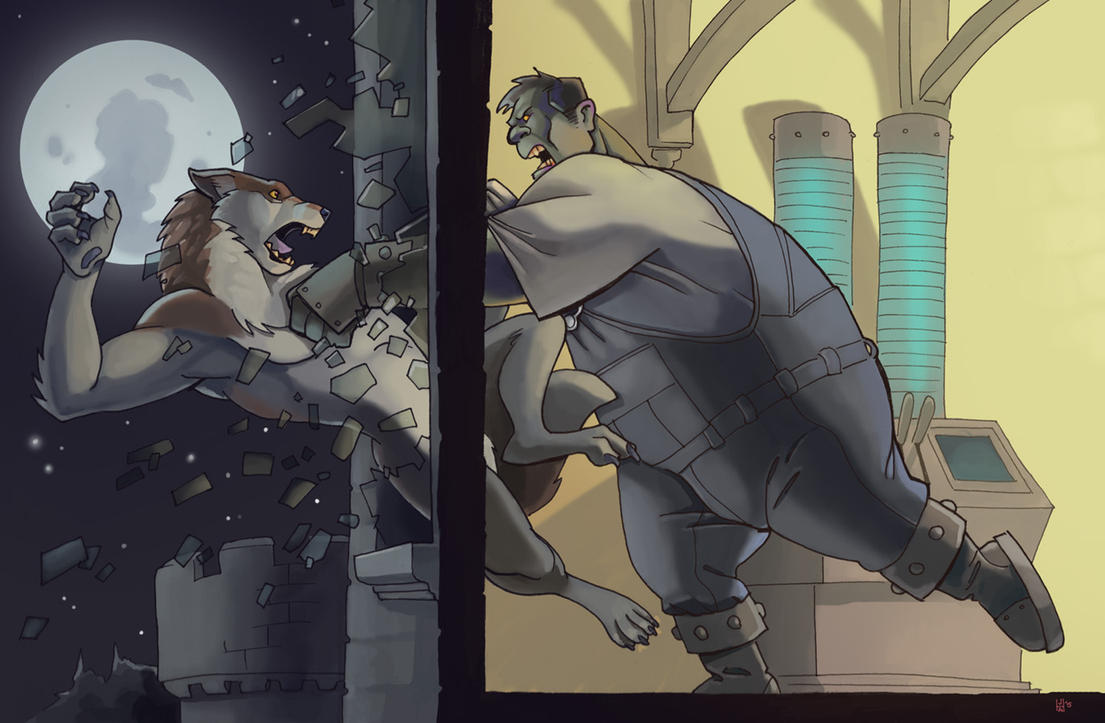 Graveyard smash! by Pachycrocuta
