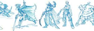 giant character sketchdump!