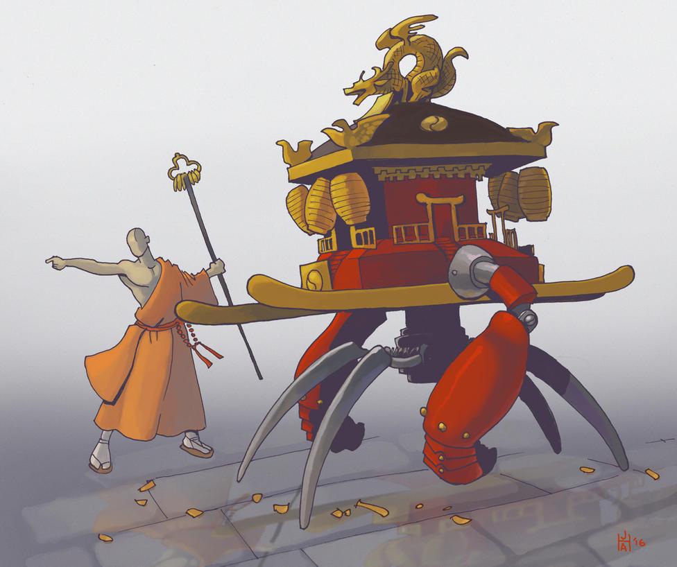 mikoshi by Pachycrocuta