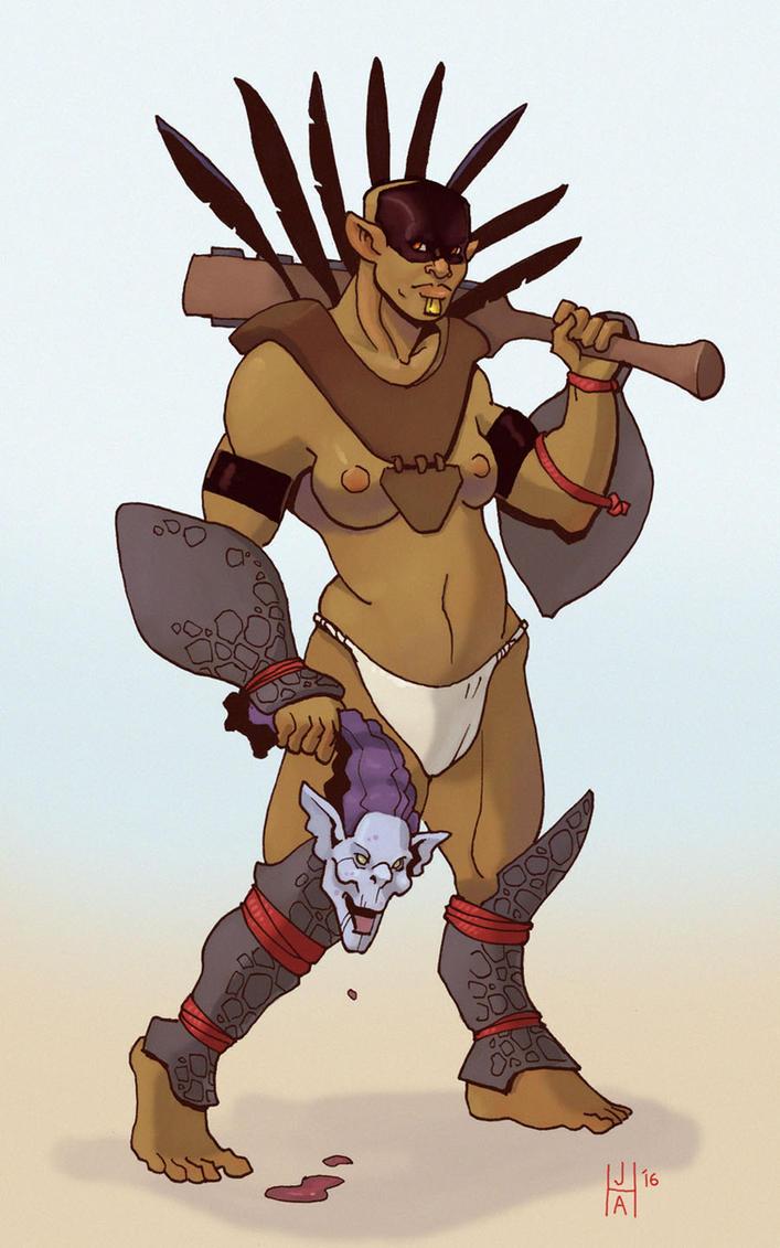 Mul warrior by Pachycrocuta