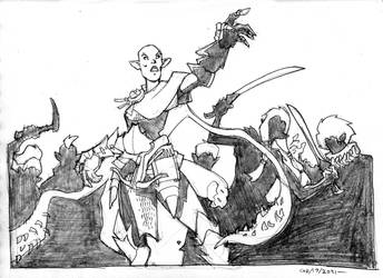 Drow attack!