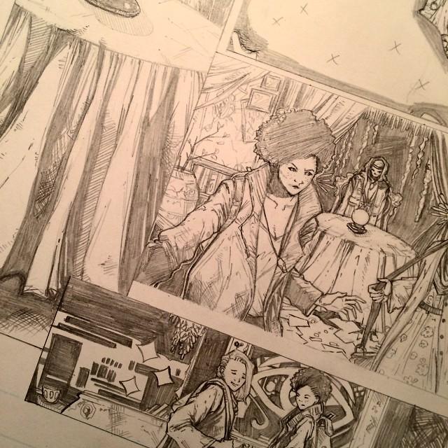 Sneak Peak. Getting back to drawing. by eclecticartshyt03
