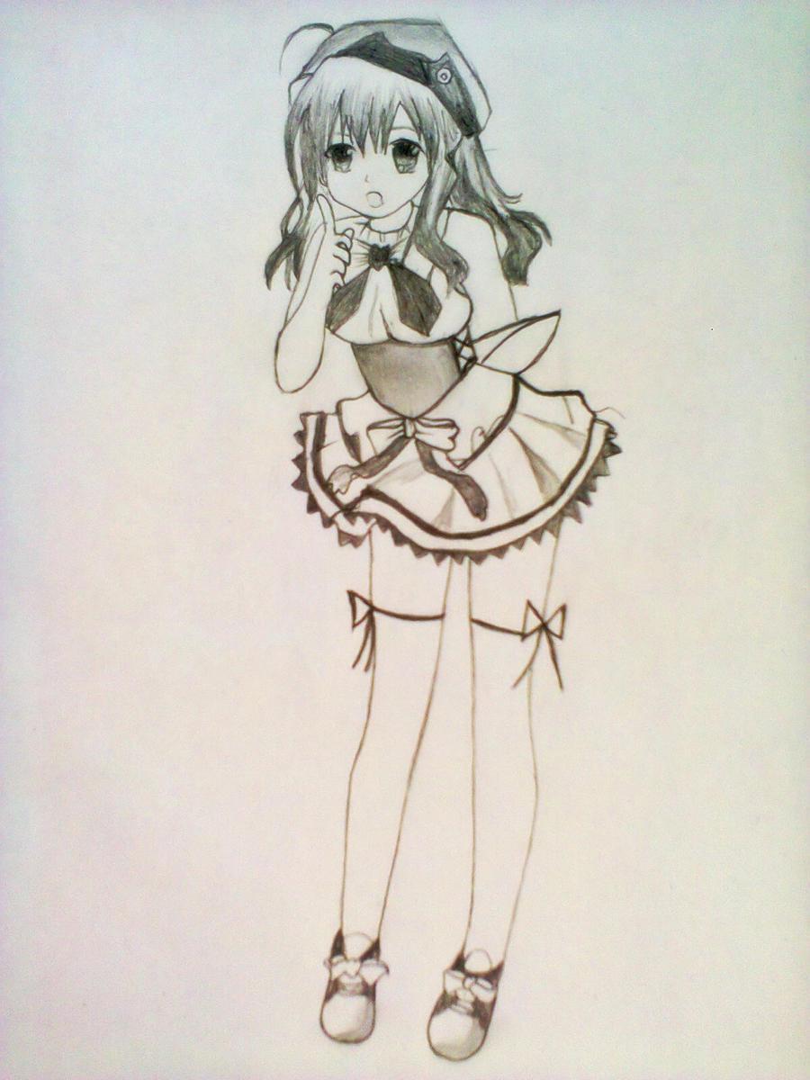 cute anime girl by xinje on DeviantArt