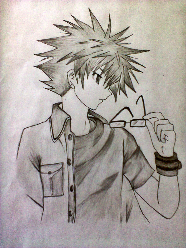 cool anime guy 4th generation by xinje d5np5fo