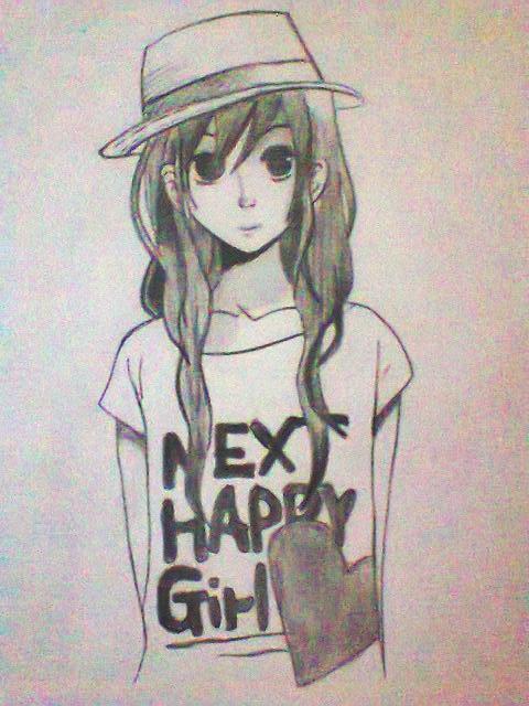next happy girl by xinje on DeviantArt