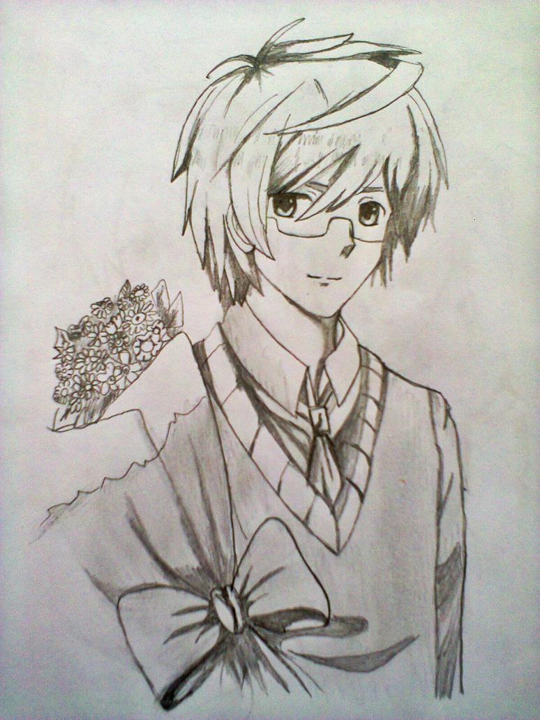 sweet anime guy by xinje on DeviantArt