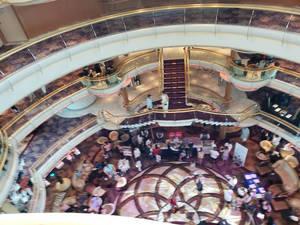 Cruise Ship Main Area