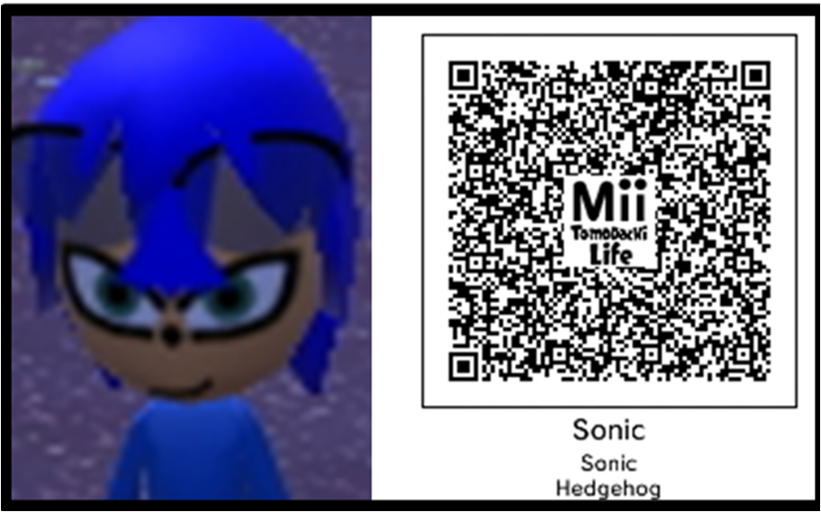 Tomodachi life sonic the hedgehog by tomodachilifeyou