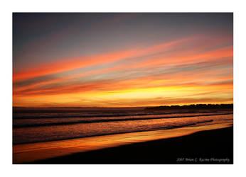 Stinson Sunset by AlwaysThinkingPhoto