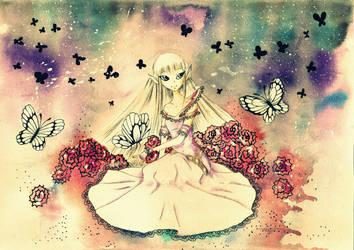 spring elf  girl by murksle