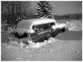 Vintage Snow by kamuidestiny
