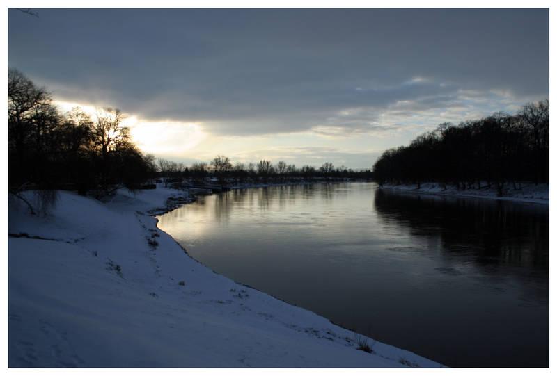 Elbe Sunrise by kamuidestiny