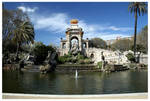 Parque Ciutadella Fountain by kamuidestiny