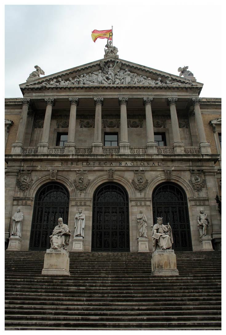 Spanish National Library by kamuidestiny