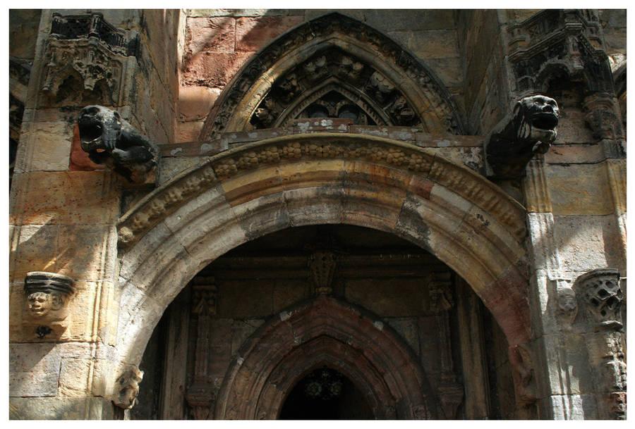 Rosslyn Doorway by kamuidestiny