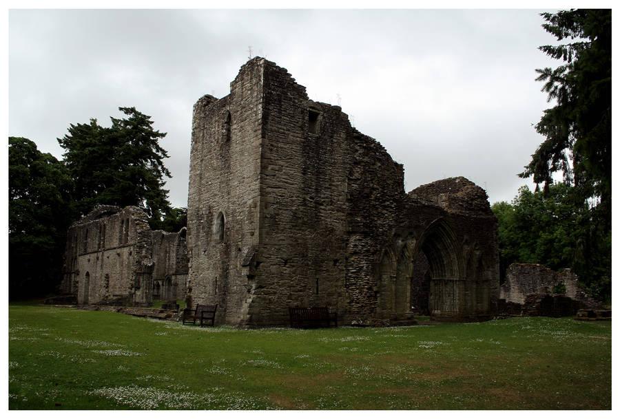 Inchmahome Ruins by kamuidestiny