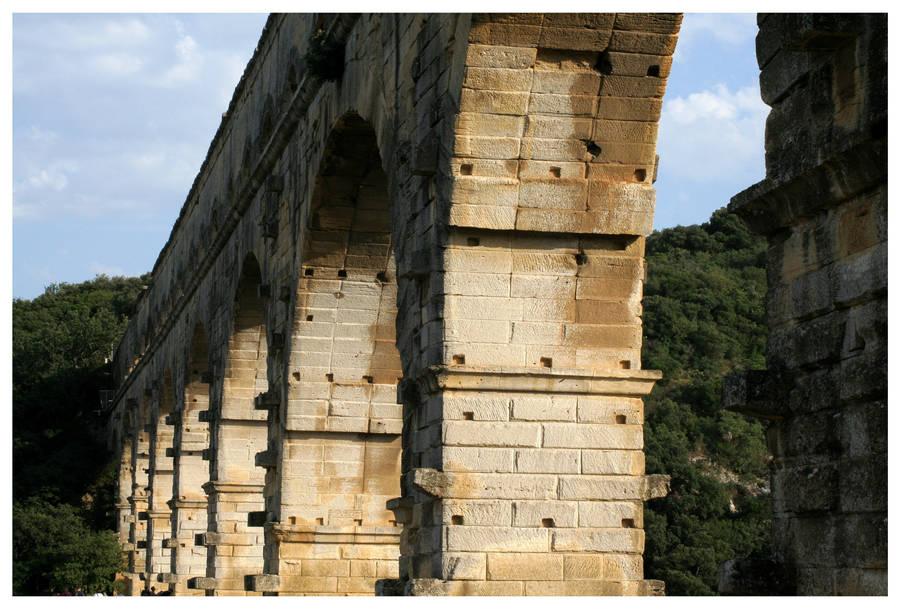 Pont du Gard by kamuidestiny