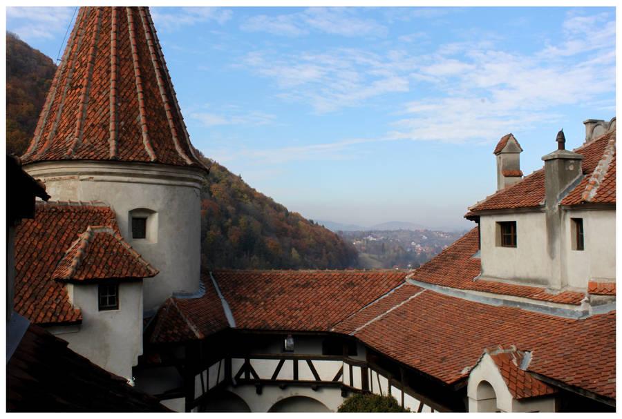 Bran Castle View by kamuidestiny