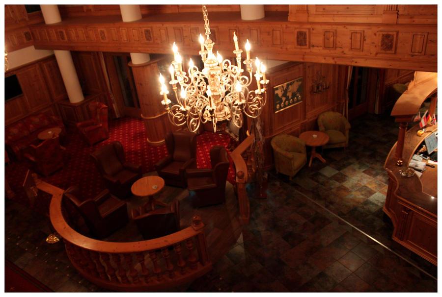 Lobby interior.