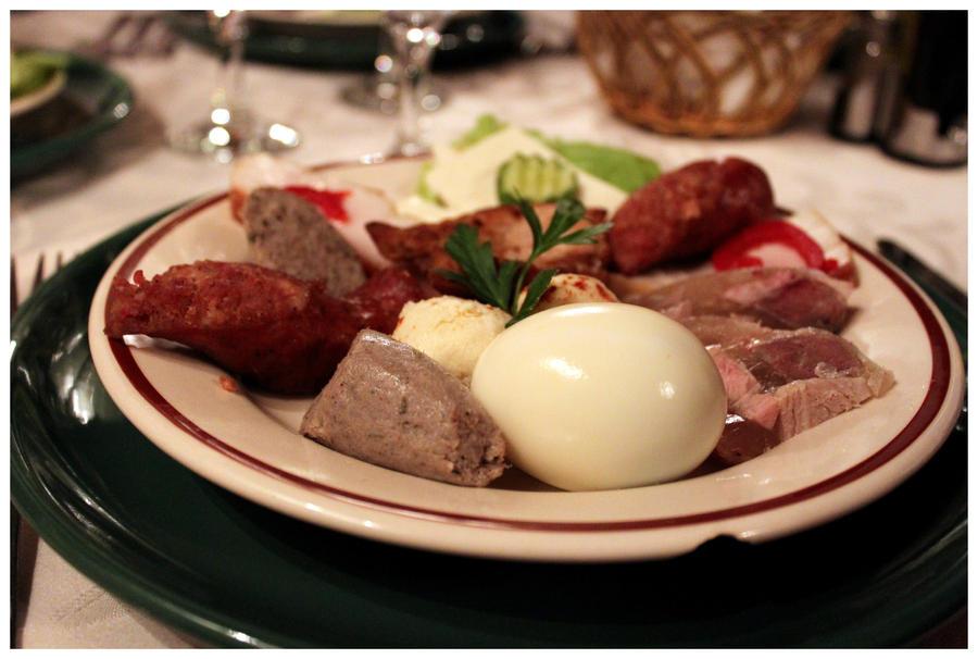 Romanian food.