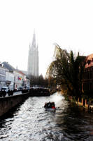 Brugge Canal by kamuidestiny