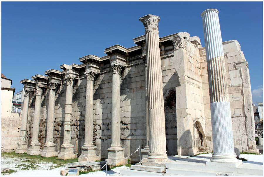Hadrian's Library by kamuidestiny