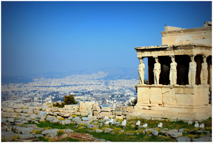 Athens View.