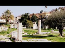 Roman Agora by kamuidestiny