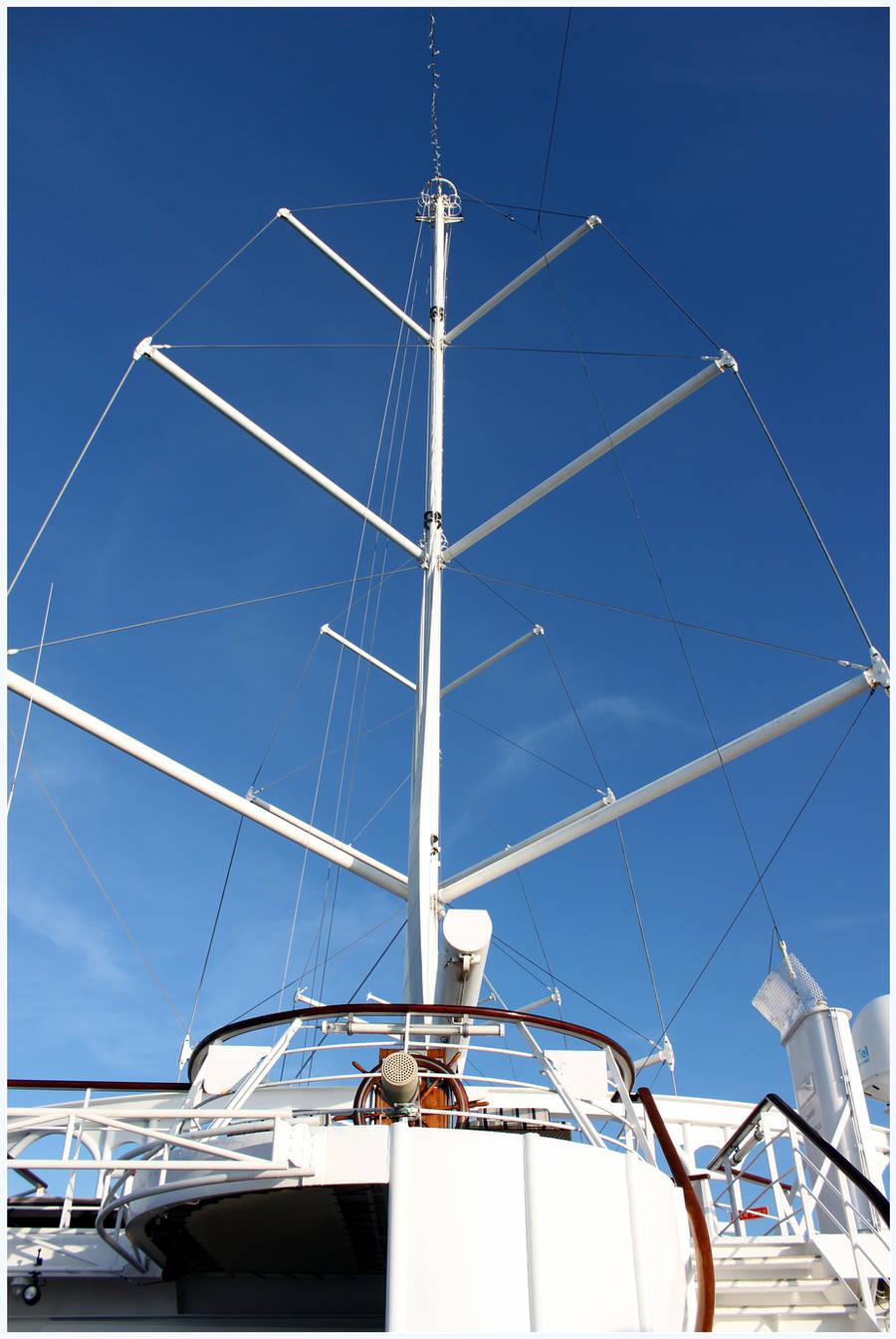 Windy Masts by kamuidestiny
