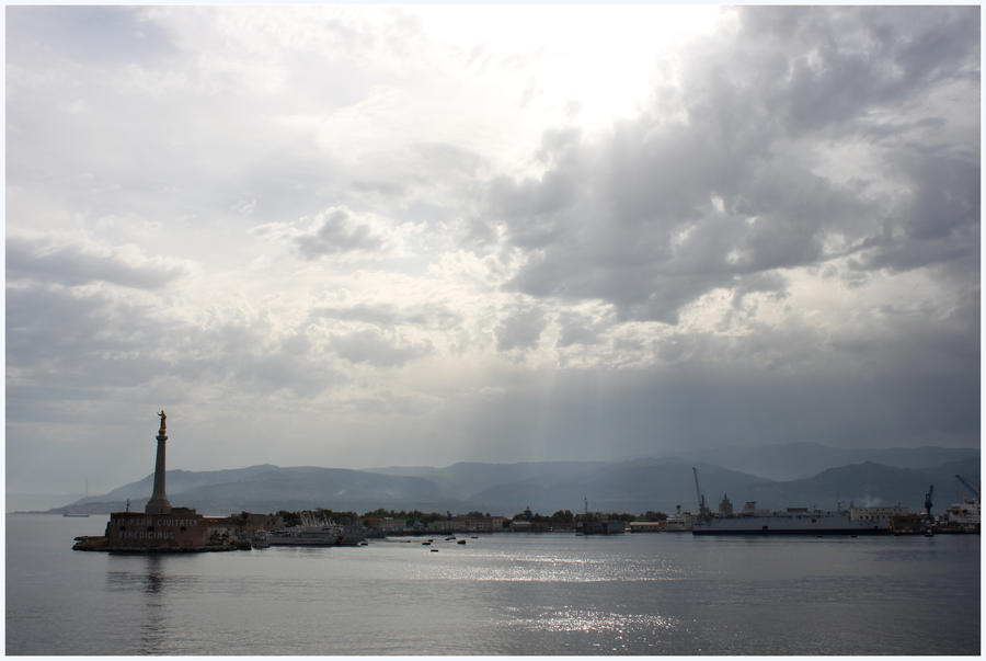 Messina harbor.