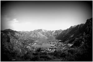 Kotor Bay Vignetted by kamuidestiny