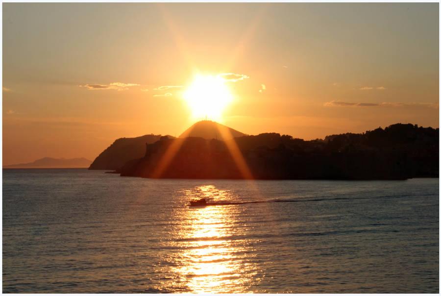 Dalmatian Sunset by kamuidestiny